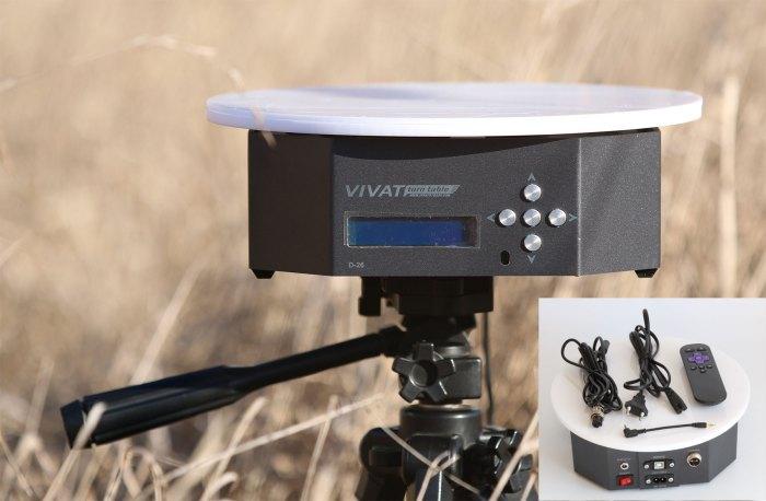 Поворотный стол для фотосъемки товаров 360 градусов