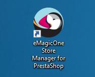 Запуск программы PrestaShop Store Manager