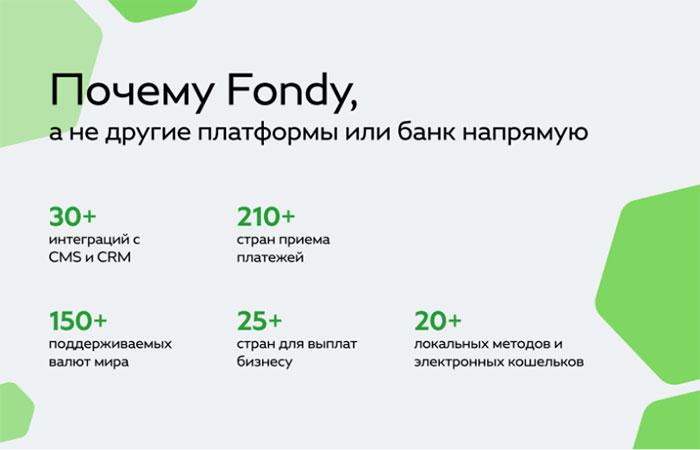 Преимущества онлайн платежной системы Fondy