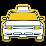 Доставка товаров с помощью такси